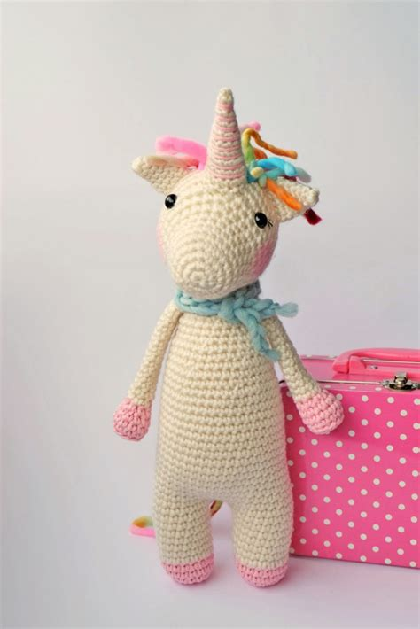 unicorn craft pattern animal crochet pattern page 8 of 20 sugar bee crafts