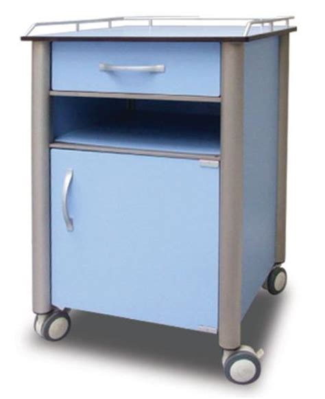 hospital style bedside table innovative healthcare furniture hospital bedside cabinet