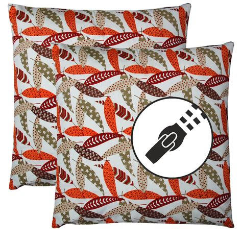 stuffing for couch pillows set of 2 pillow sofa cushion 45x45cm 100 cotton with