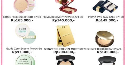 Harga Bedak Etude House Indonesia jual kosmetik korea free ongkir se indonesia harga