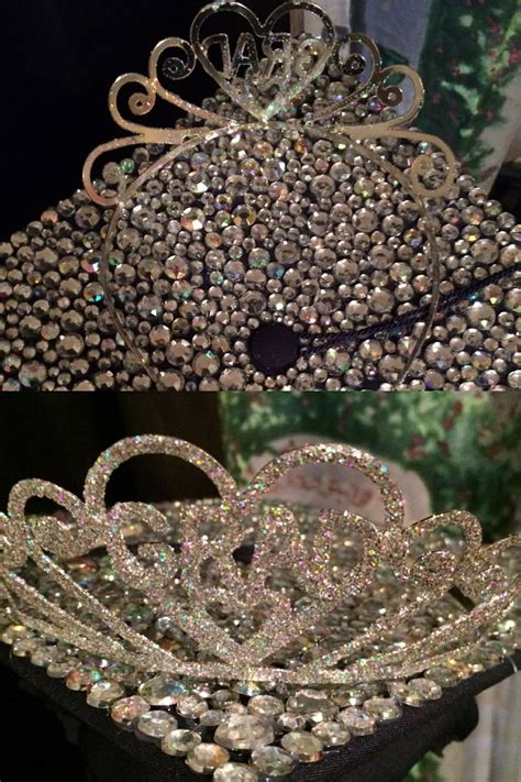 26 Princess Grad Tiara tucker because i m in with my rhinestone crown graduation cap events and photo