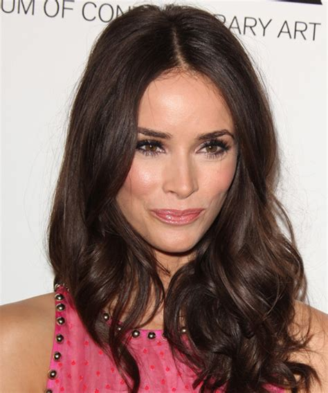 Abigail Spencer Long Wavy Casual Hairstyle   Medium