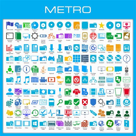 metro icon pack installer for windows 8 8 1 by