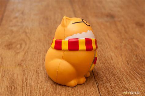 Chummypie Chunky Cat Squishy обзор антистрессовых игрушек chunky cat и vlo cat