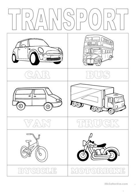 free printable preschool transportation worksheets free transportation worksheets for kindergarten