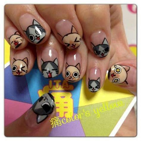 nail art 14 dise 241 os purrfectos para lucir gatos en tus