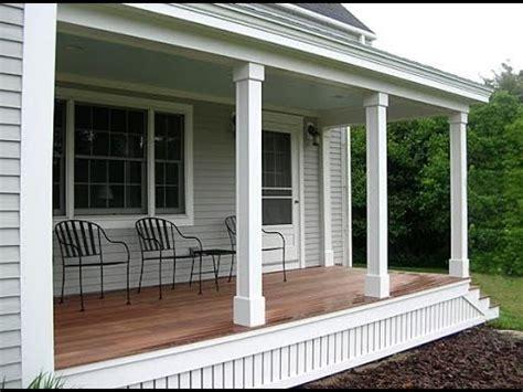 porch posts and columns hgtv porch patio columns youtube