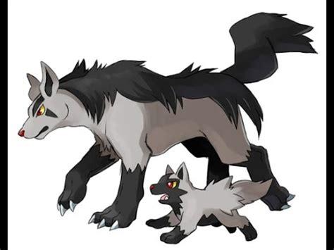 lol pokemon mightyena/poochyena wolf camp (by mrbrokoli