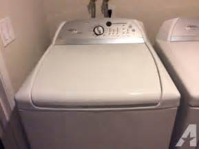 Whirlpools For Sale Whirlpool Cabrio Washer Dryer Combo Used For Sale In