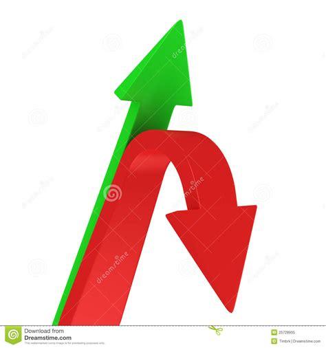 imagenes de flechas rojas arriba y abajo de flechas