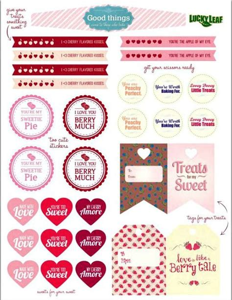 printable valentine recipes 1000 images about recipe scrapbooking printables and