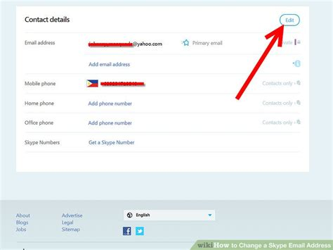 Skype Address Finder How To Change A Skype Email Address 4 Steps With Pictures