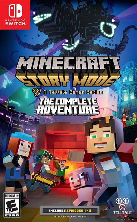 Kaset Ps4 Minecraft Story Mode The Complete Adventure minecraft story mode the complete adventure nintendo switch news reviews trailer