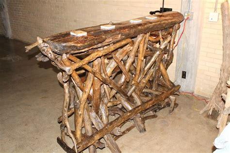 Handmade Driftwood Bar By Ohio River Furnishings And De R