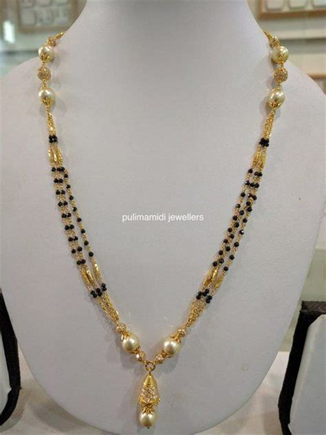 black necklace designs india 47 best images about mangalsutra designs on
