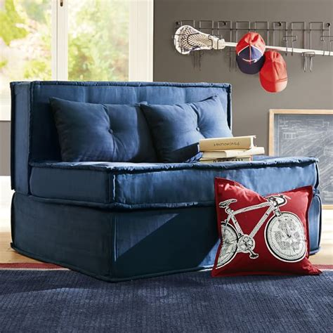 Cushy Sleeper Sofa 47 25 Quot Pbteen Cushy Sleeper Sofa