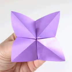 Fortune Tellers Origami - fold a fortune teller easy origami tutorial a