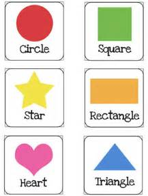 color flash cards shapes flash cards printable for preschoolers printable