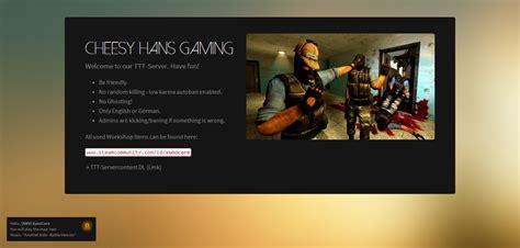 Gmod Website Template Github Codebrauer Gmod Loadingscreen A Garrys Mod Loading Screen With Steam Api Features