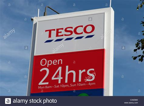 tesco mobile sign in tesco store sign stock photo royalty free image 50843744