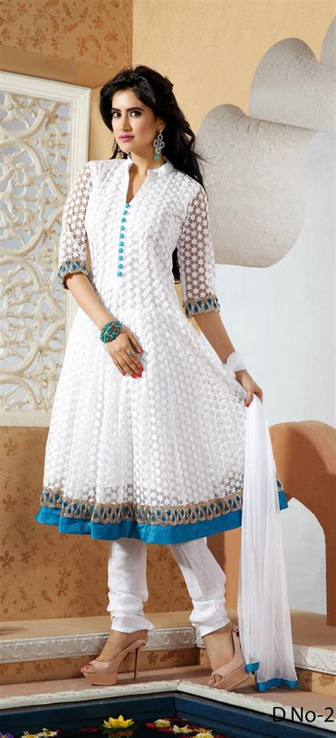 net pattern suit white embroidered net salwar suit 28775 sewing patterns