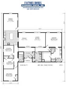 5 bedroom manufactured home floor plans triple wide floor plans triple wide mobile home floor