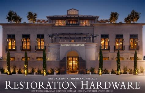 Restoration Hardware Gift Card For Sale - the gallery at highland village houston rh
