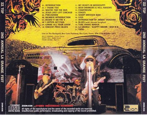Zztop La Grange by Zz Top 2nd Annual La Grange 1cd