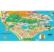 Mapa Tur Stico Do Rio De Janeiro Rj Car Tuning