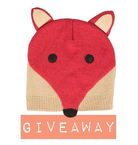 Beanie Giveaway - knuffels 224 la carte blog giveaway irresistable fox beanie hat