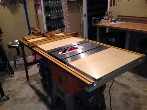 andrew table ls ridgid table saw fence accessories project pdf