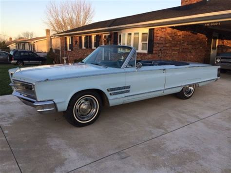 Chrysler Convertible For Sale by 1966 Chrysler 300 Convertible For Sale Photos Technical