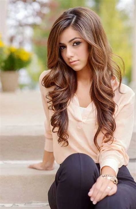 teen girls long hair 25 wavy hairstyles for long hair hairstyles haircuts