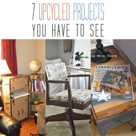 Upcycled Home Decor by 7 Diy Upcycled Home Decor Projects You To See The