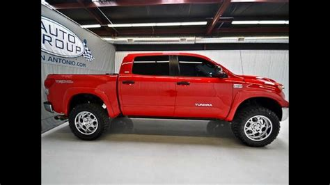 toyota tundra 2009 for sale 2009 toyota tundra crew max sr5 trd lifted truck for sale