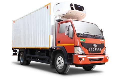 eicher reefer trucks refrigerated van refrigerator