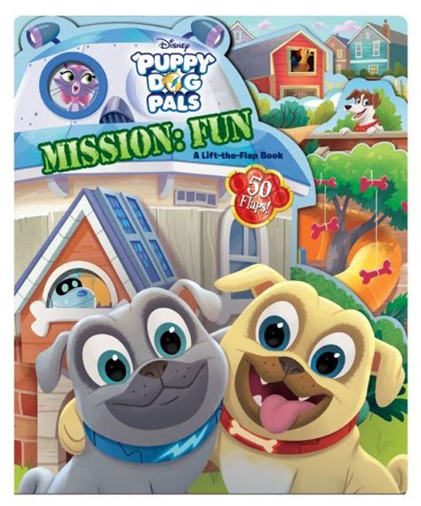 puppy pals puppy pals mission a lift the flap book books puppy pals mission disney books disney