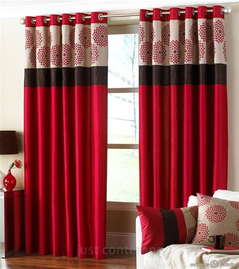fancy red and white bedroom curtains decor with red black and 256 best red and brown living room images on pinterest