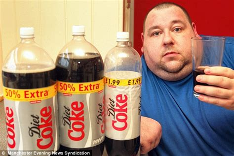 Coca Cola Detox by Diet Coke Addiction Darren Jones Admits Problem After