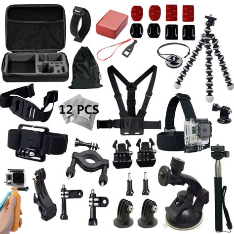 Jual Gopro 4 Black Set gopro accessories set go pro kit mount for sj4000 gopro