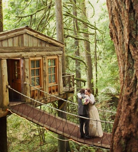 Farmhouse With Wrap Around Porch Plans 15 Romantic Tree House For Wedding Ideas Home Design And