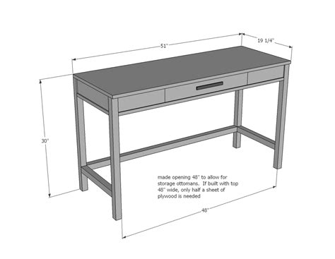 Study Desk Dimensions by Tiny House White Diy Projects