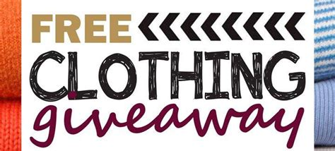 Free Clothing Giveaway - free clothing giveaway at first assembly of god westernport westernport