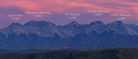 the only north american mountains that blow colorado away 14er art mountain ranges with peak labeling