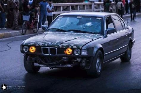 bulletproof bmw saves 70ppl from with bullet proof bmw
