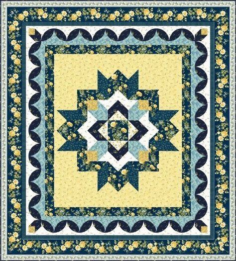 Medallion Quilts Free Patterns by Medallion Bed Quilt Designs