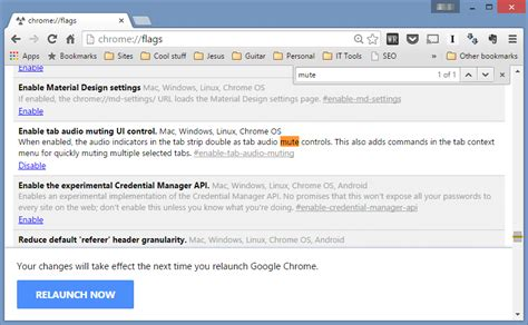 chrome flags how to mute tabs in google chrome edge talk