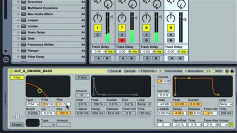 dnb drum pattern ableton drum and bass with ableton live by dj fracture youtube