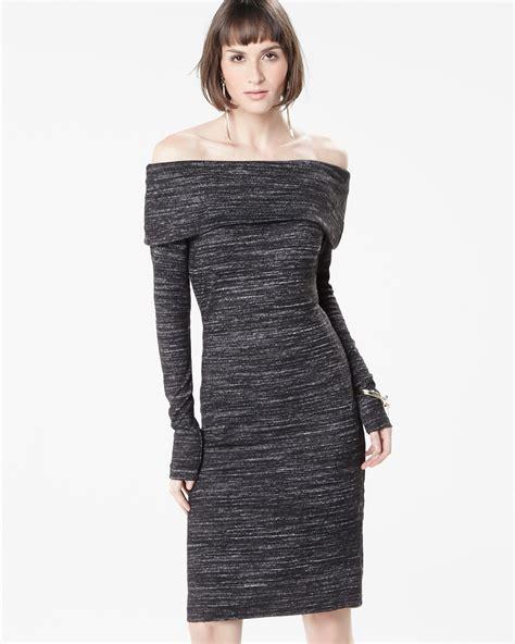 knit dress sleeve the shoulder knit dress rw co