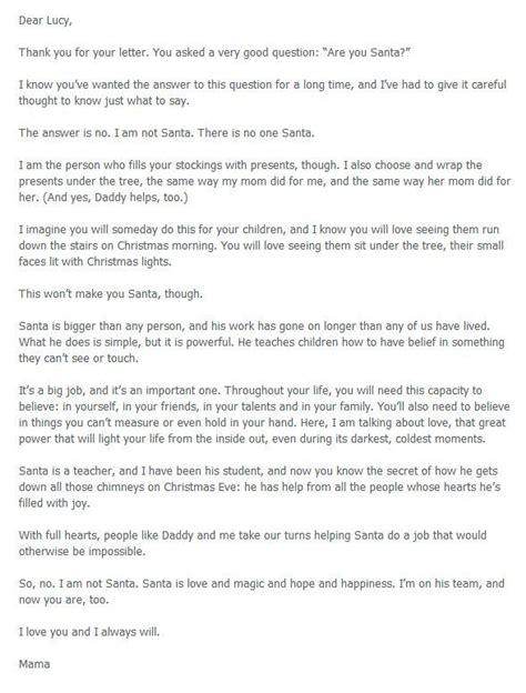 Explanation Of Gift Letter Best 25 Santa Letter Ideas On Letter Explaining Santa Santa Real And